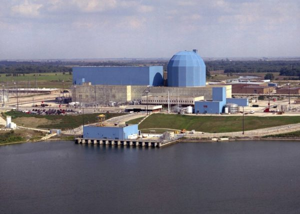 Clinton nuclear power plant